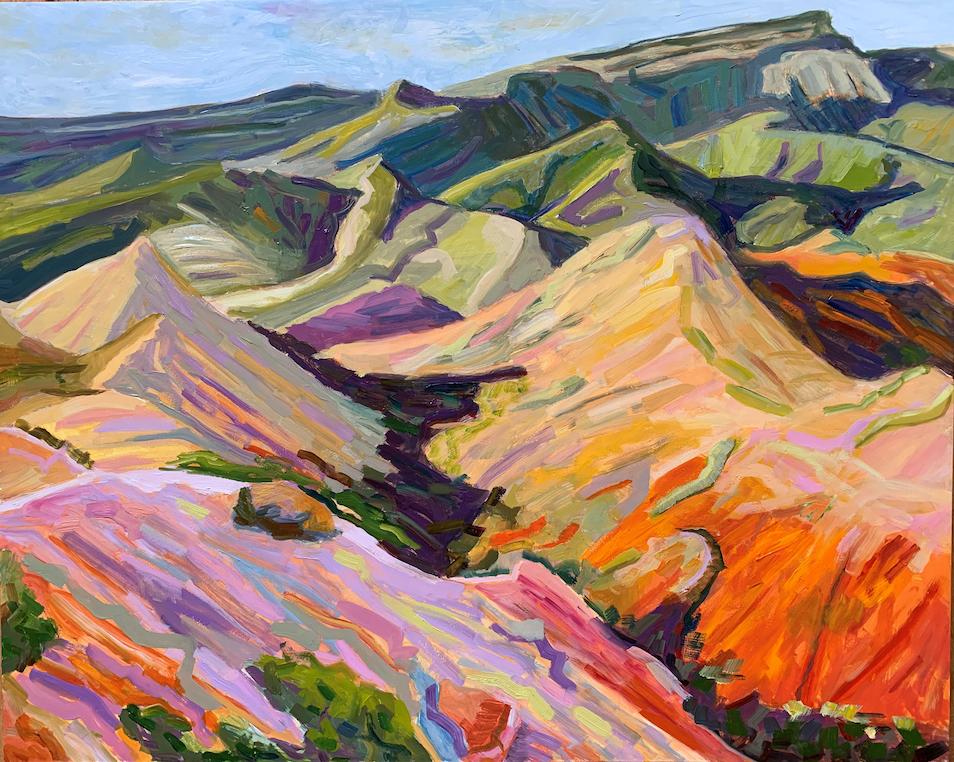 Connie Falk: Chalk Dust Trail