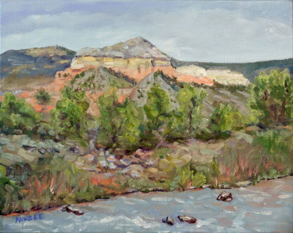 James Naugle: Chama River in Spring