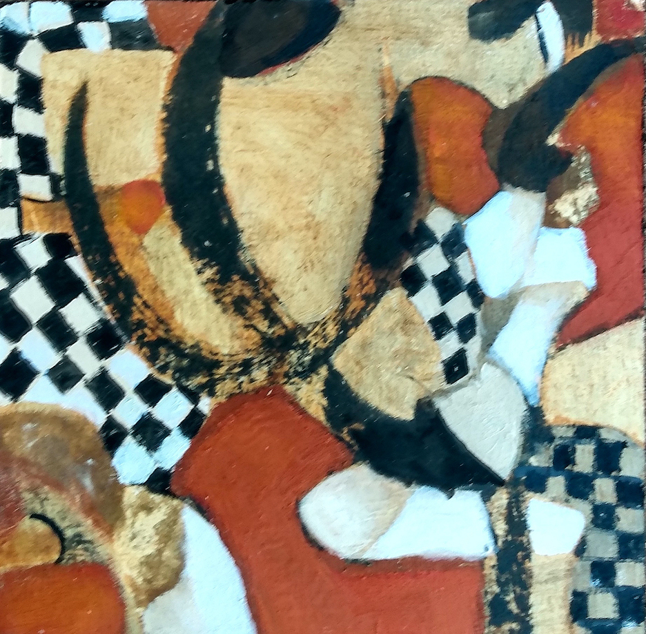 Harriette Tsosie: Checkered #1