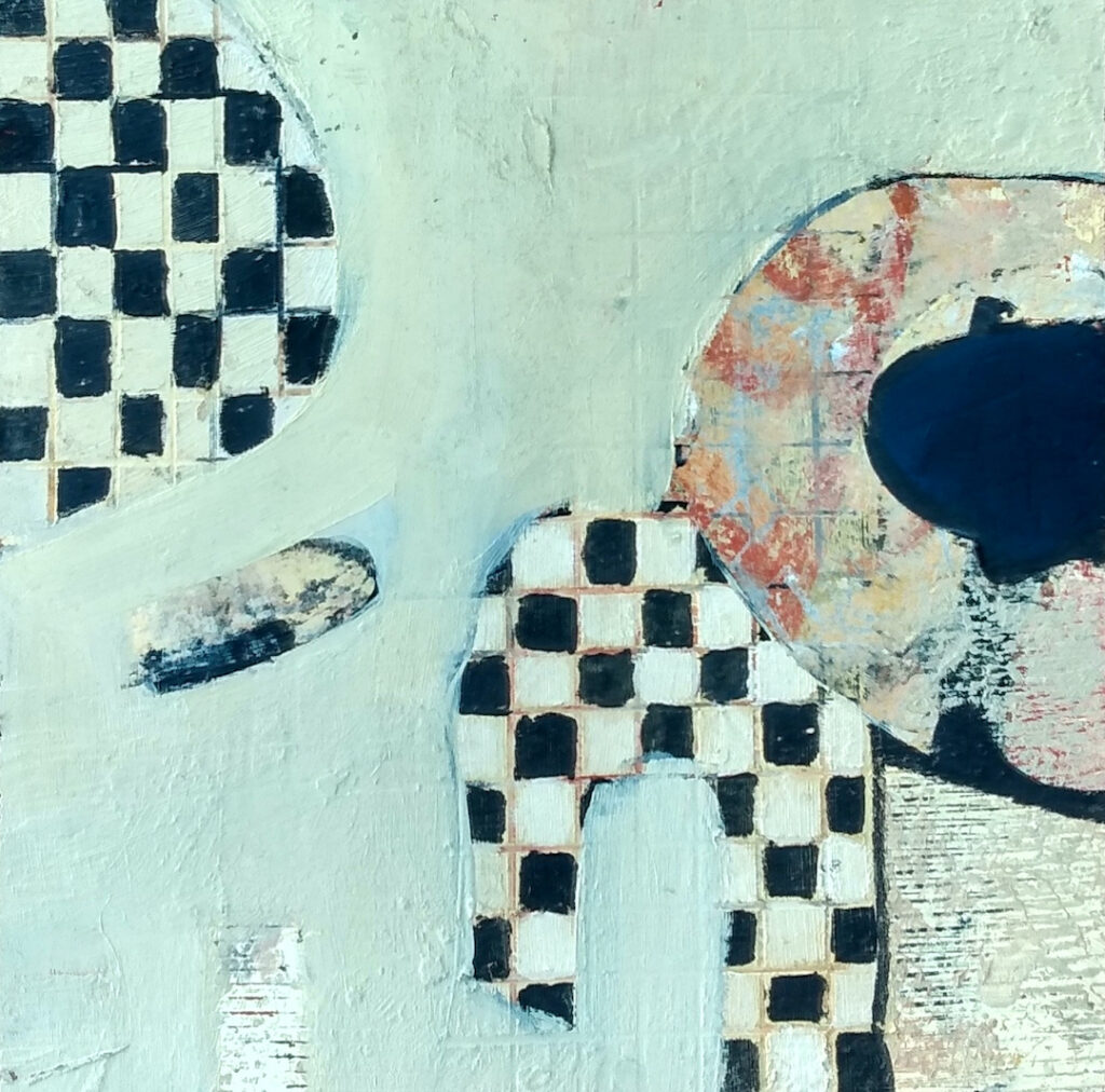 Harriette Tsosie: Checkered #2