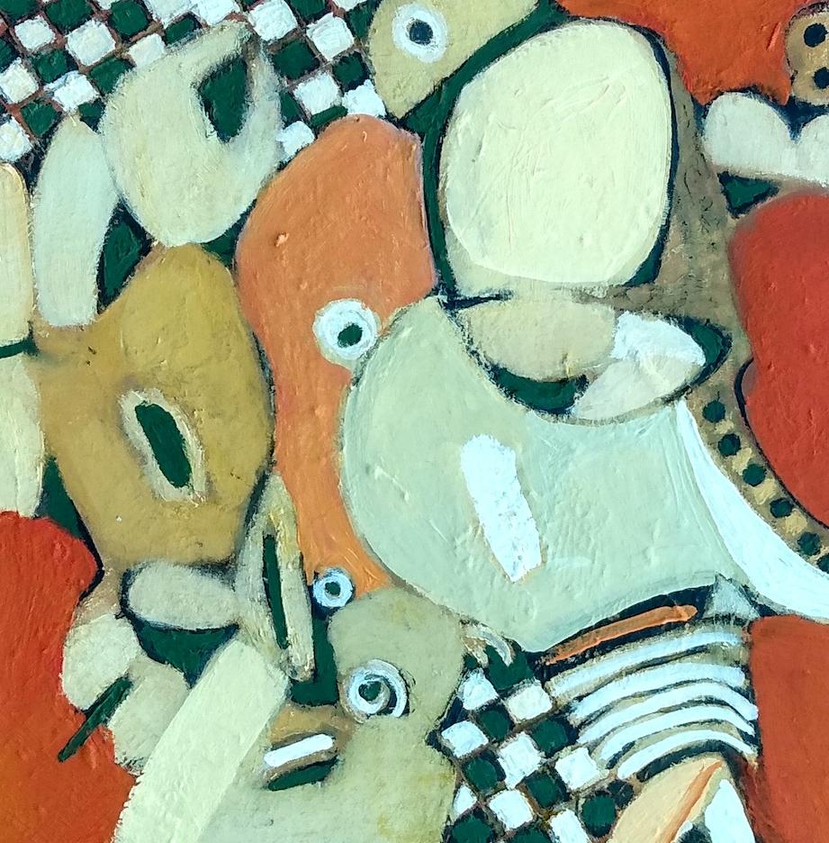 Harriette Tsosie: Checkered #4