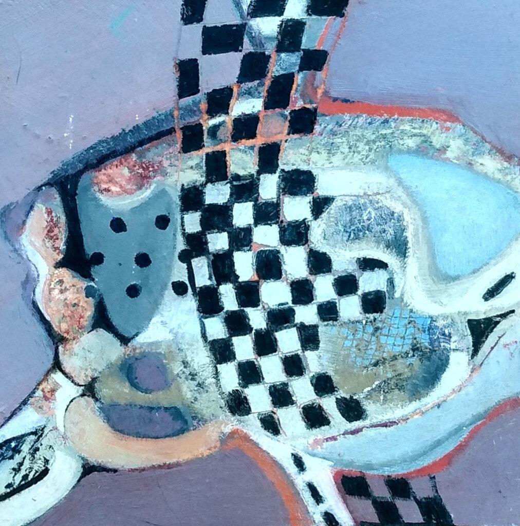 Harriette Tsosie: Checkered #5