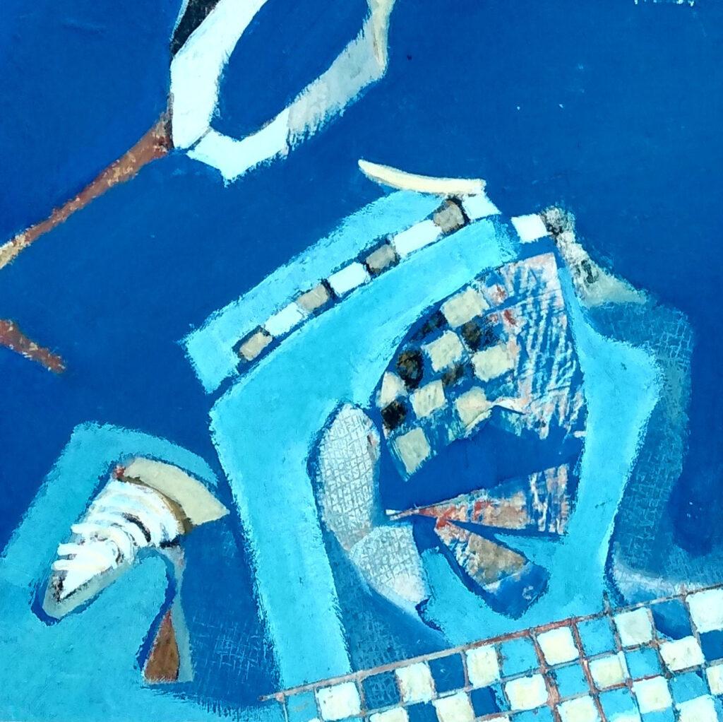 Harriette Tsosie: Checkered #6