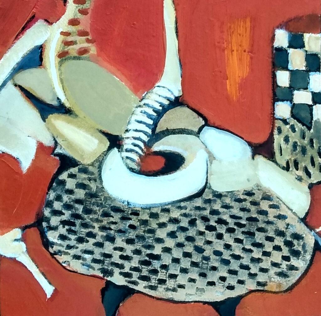 Harriette Tsosie: Checkered #7