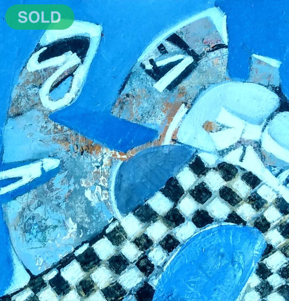 Harriette Tsosie: Checkered #8 SOLD