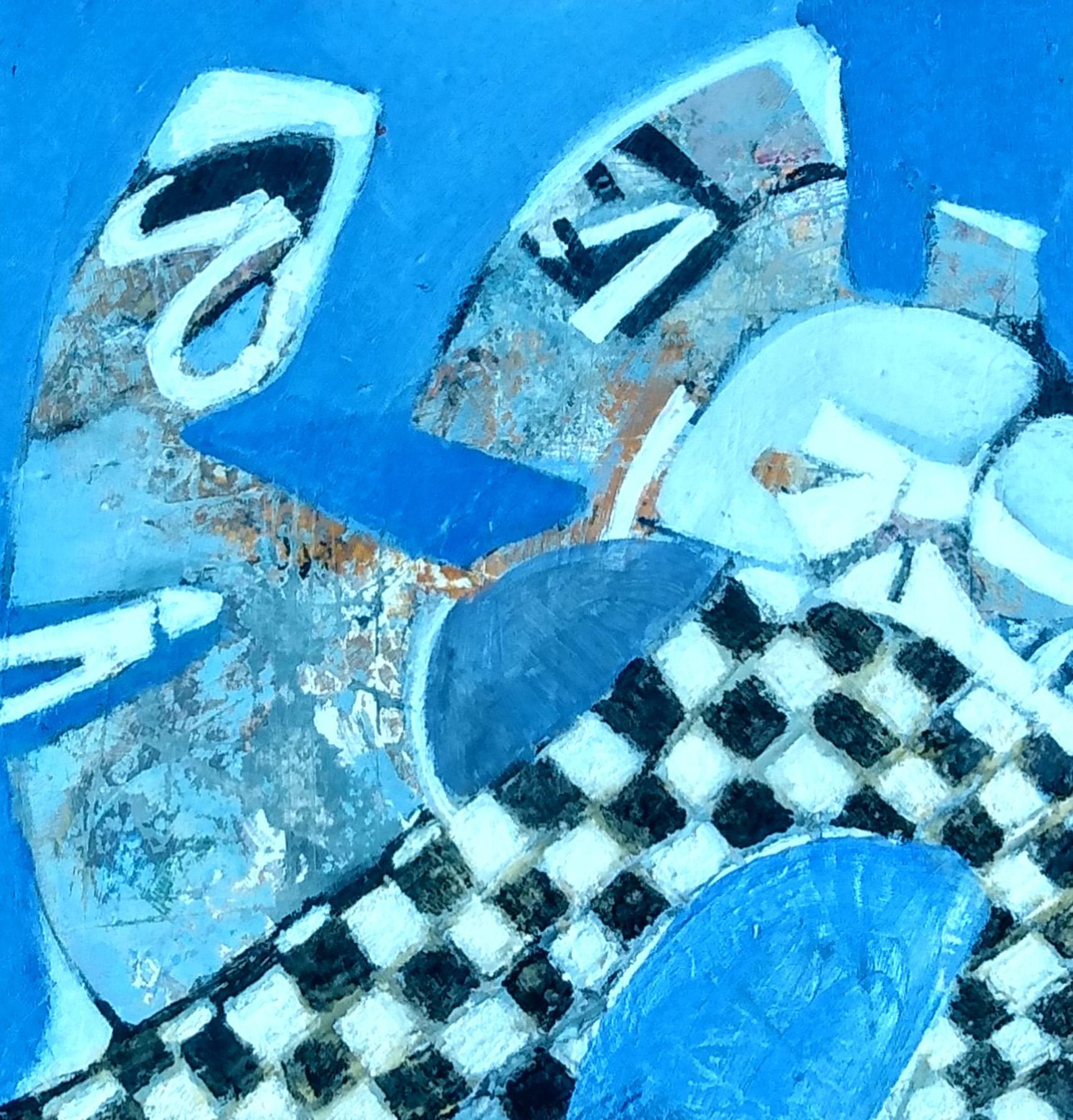 Harriette Tsosie: Checkered #8