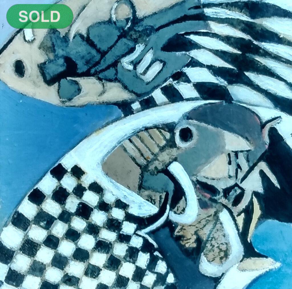 Harriette Tsosie: Checkered #9