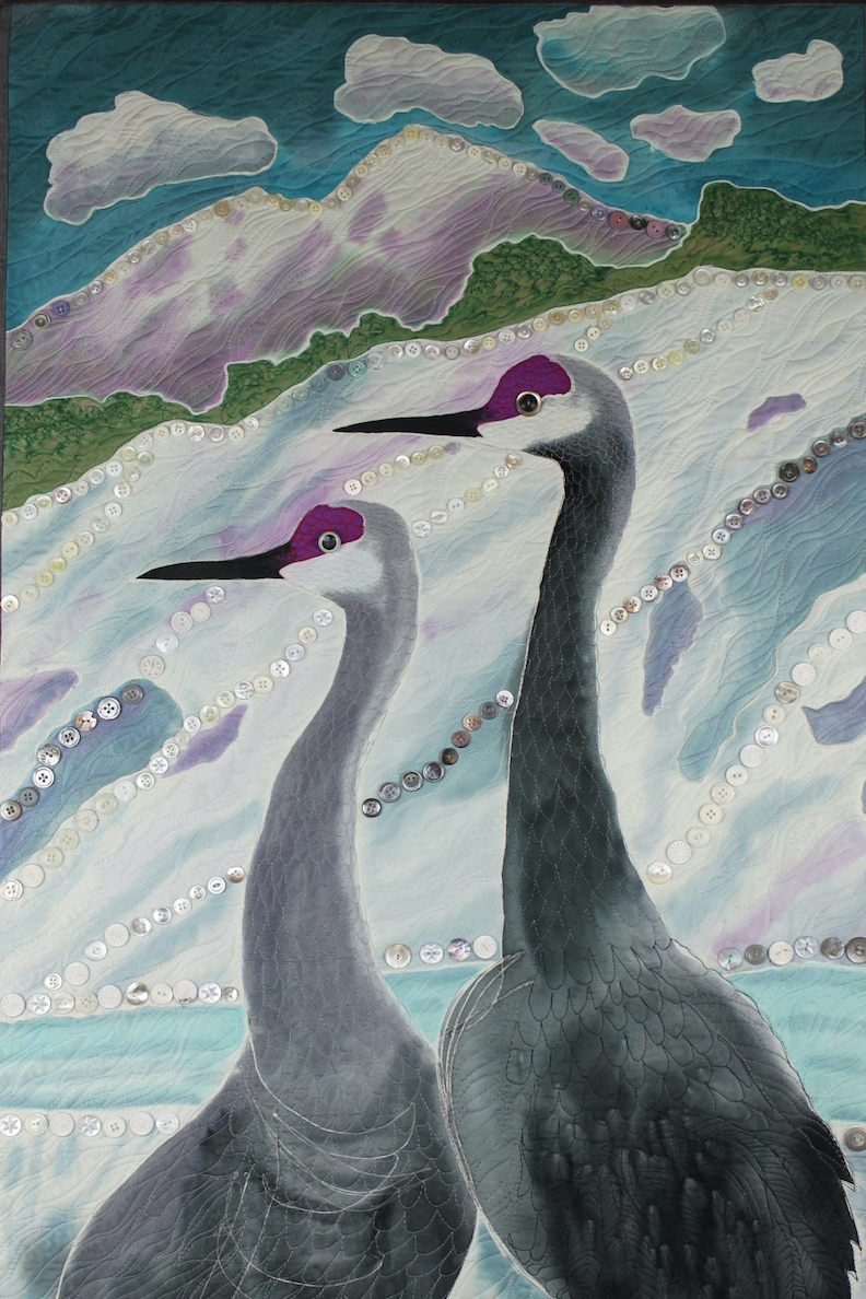 Judith Roderick: Cranes in the Snow