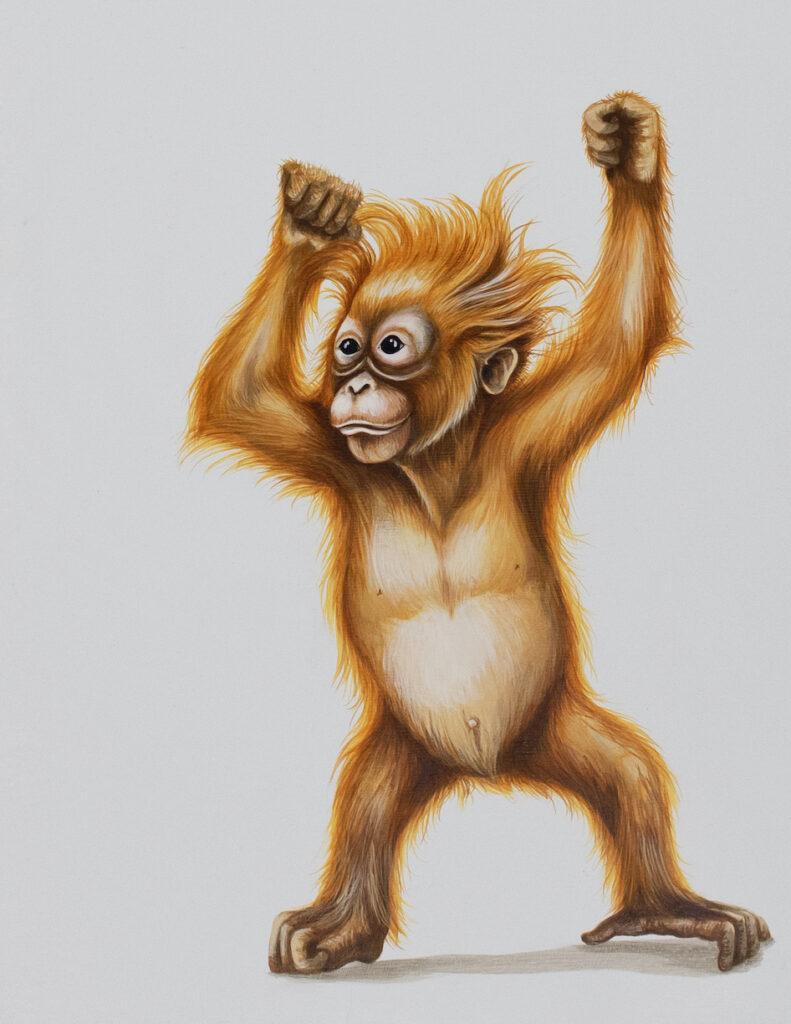 Tricia George: Dancing Orangutan