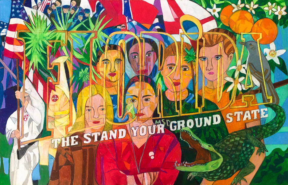 Denise Weaver Ross: FLORIDA -  The Stand Your Ground State