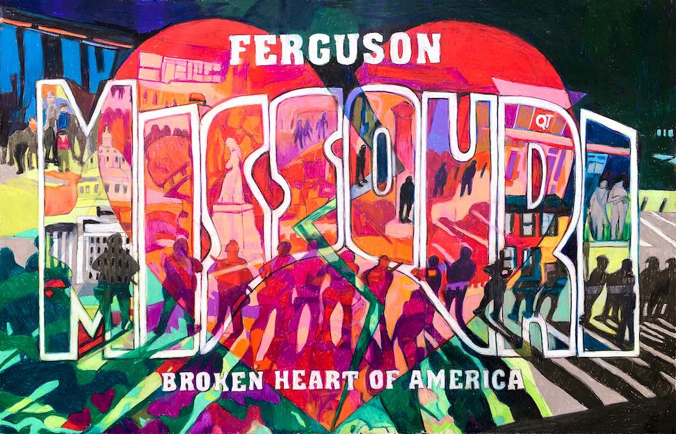 Denise Weaver Ross: Ferguson MO - The Broken Heart of America