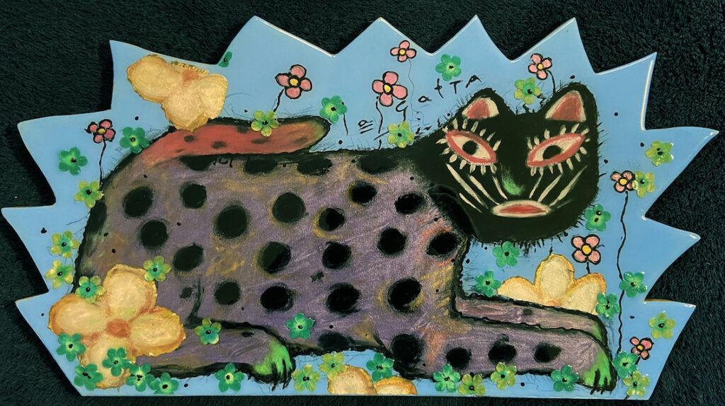 Lesley Long: Flower Meditation with Spotte Cat