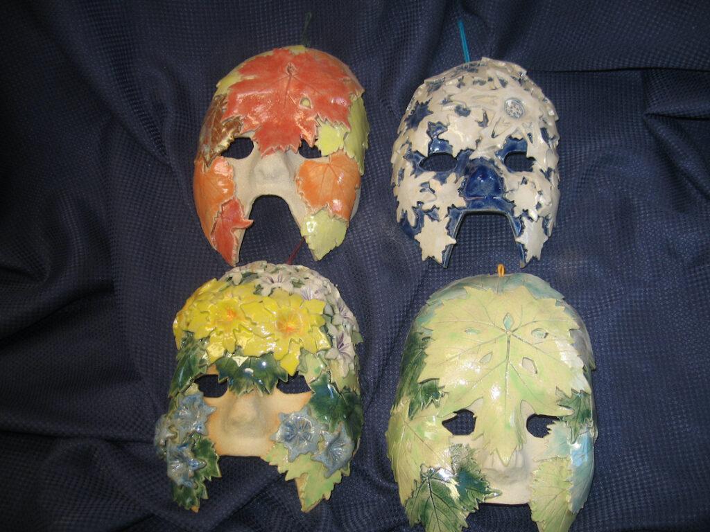 Rick Snow: Four Seasons Masks