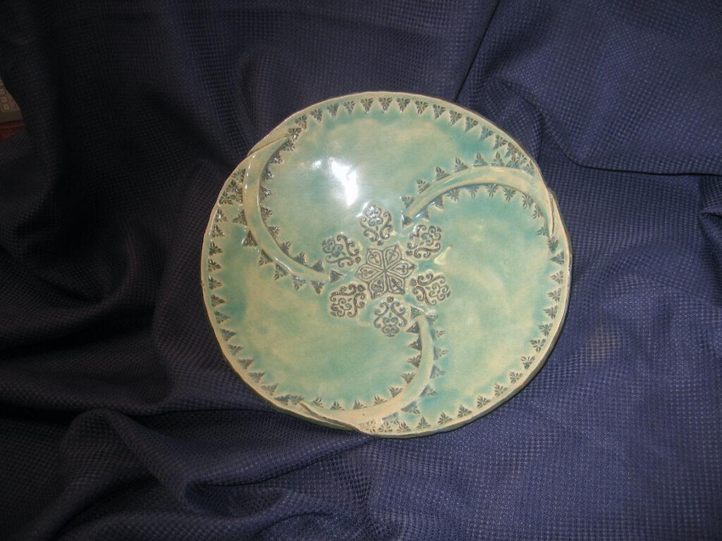 Rick Snow: Green Celadon Bowl