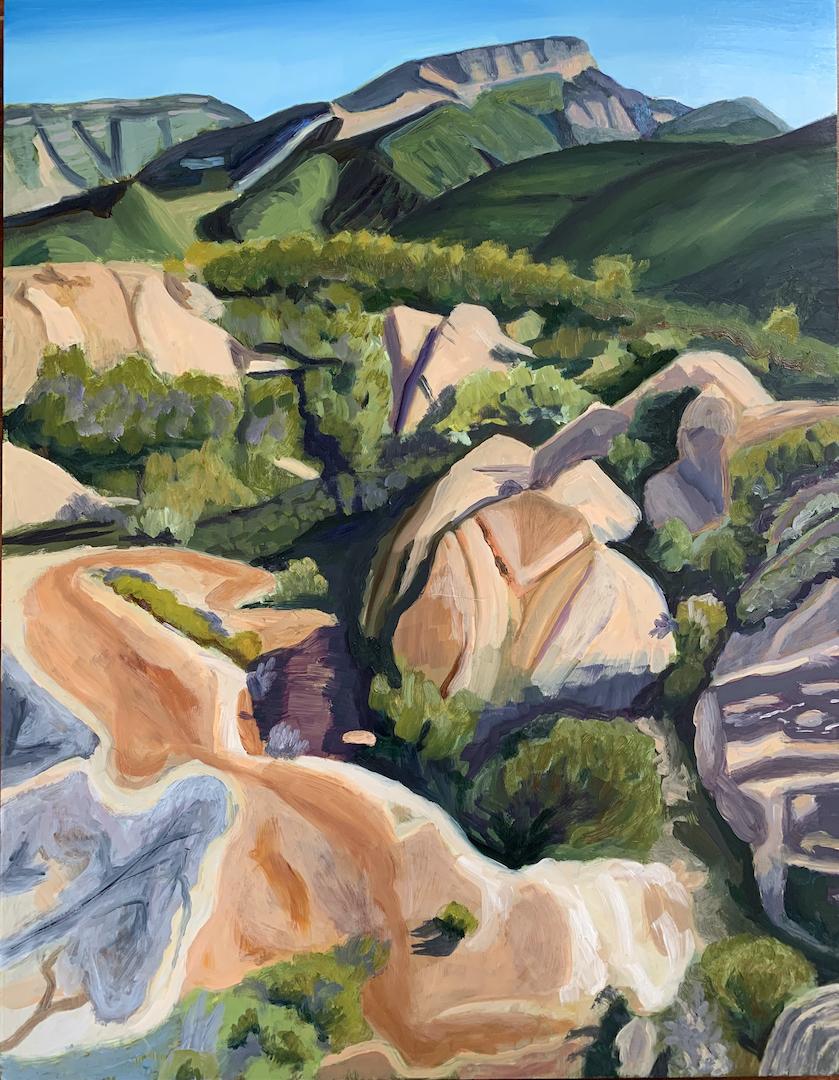 Connie Falk: Honey Mountains 2