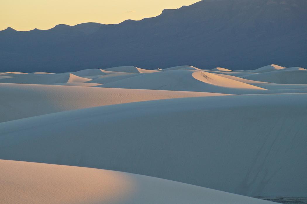 David D. Sorensen: Last Sun, White Sands