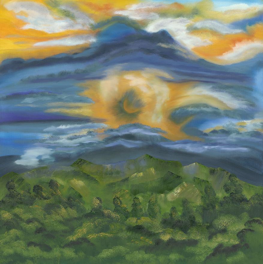 Patricia Cream: LeConte Range in Smokey Mts
