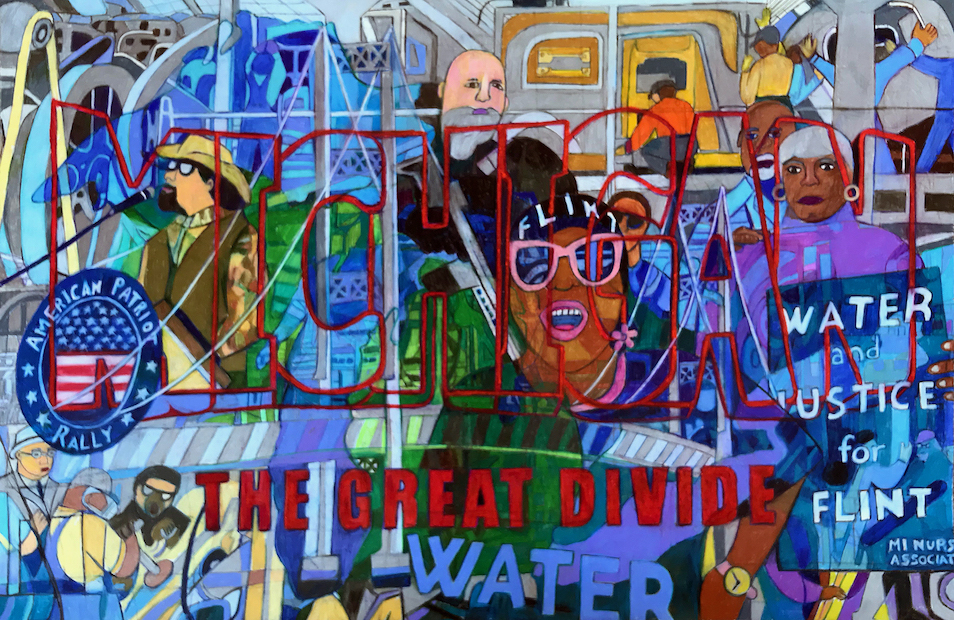 Denise Weaver Ross: MICHIGAN - The Great Divide