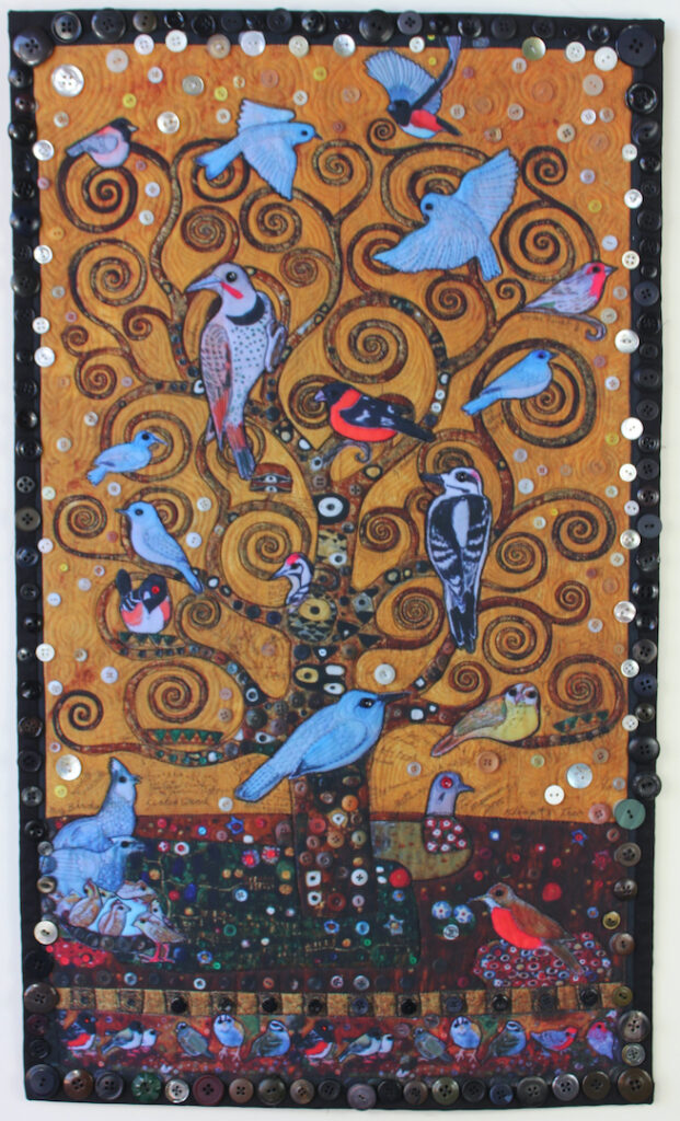 Judith Roderick: My Birds, Klimt's Tree