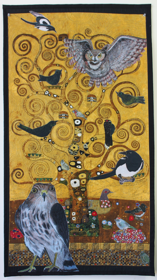 Judith Roderick: My Blackbirds, Klimt's Tree