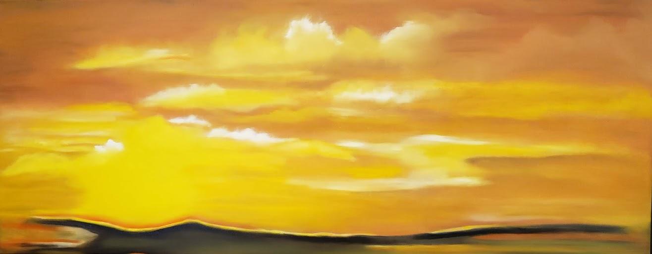 Patricia Cream: Orange Sunset