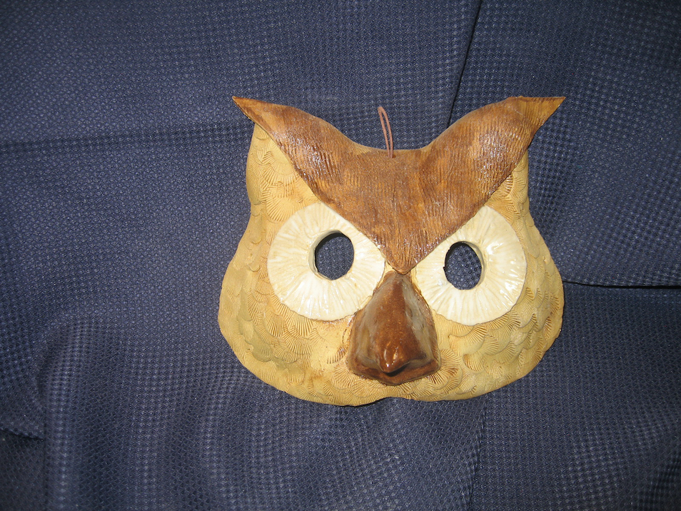 Rick Snow: Owl Mask