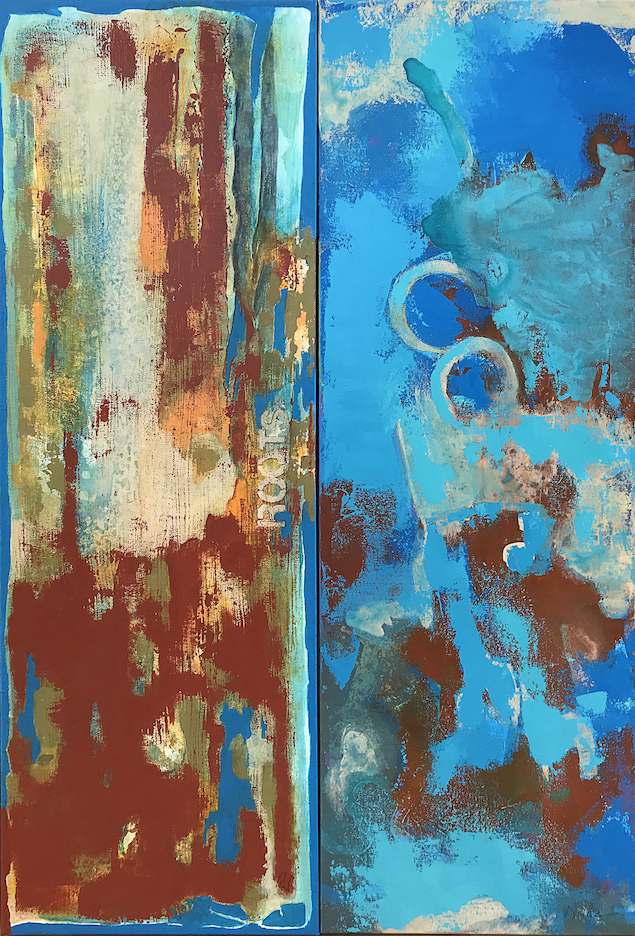 P.K. Williams/Rebecca Nolda: Red and Blue, Like Glue