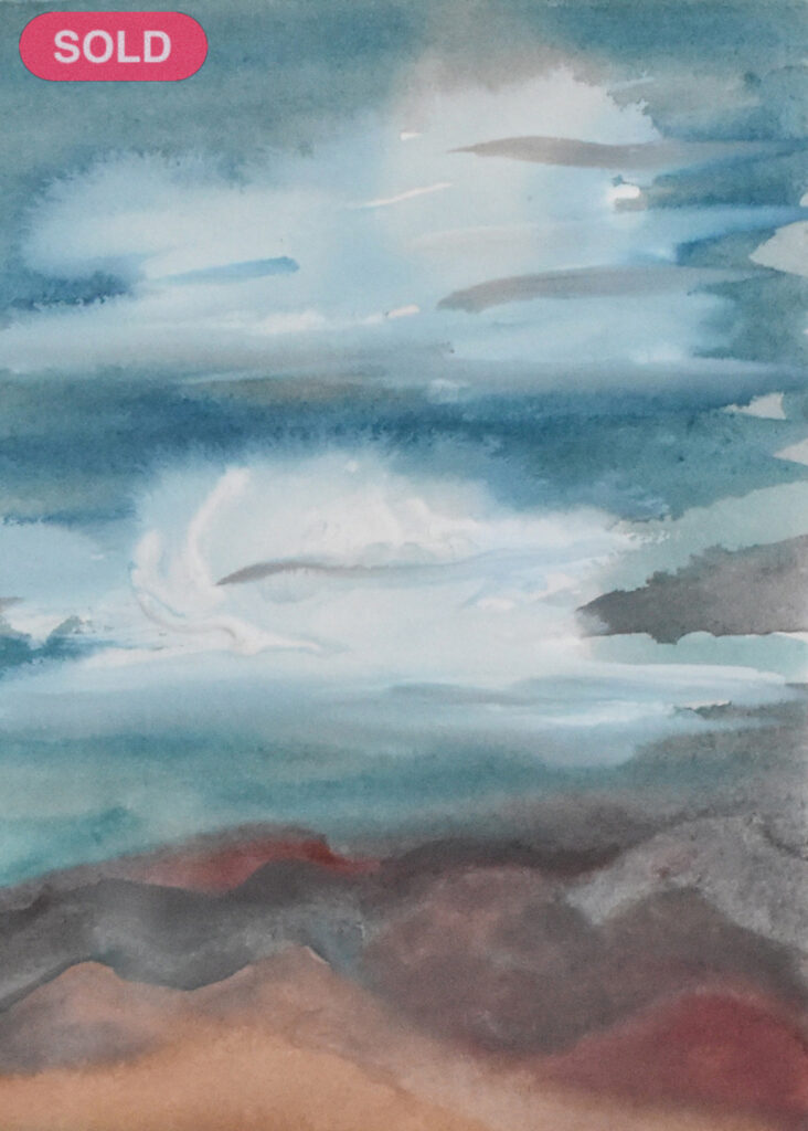 Donna Loraine Contractor: Storm Clouds SOLD