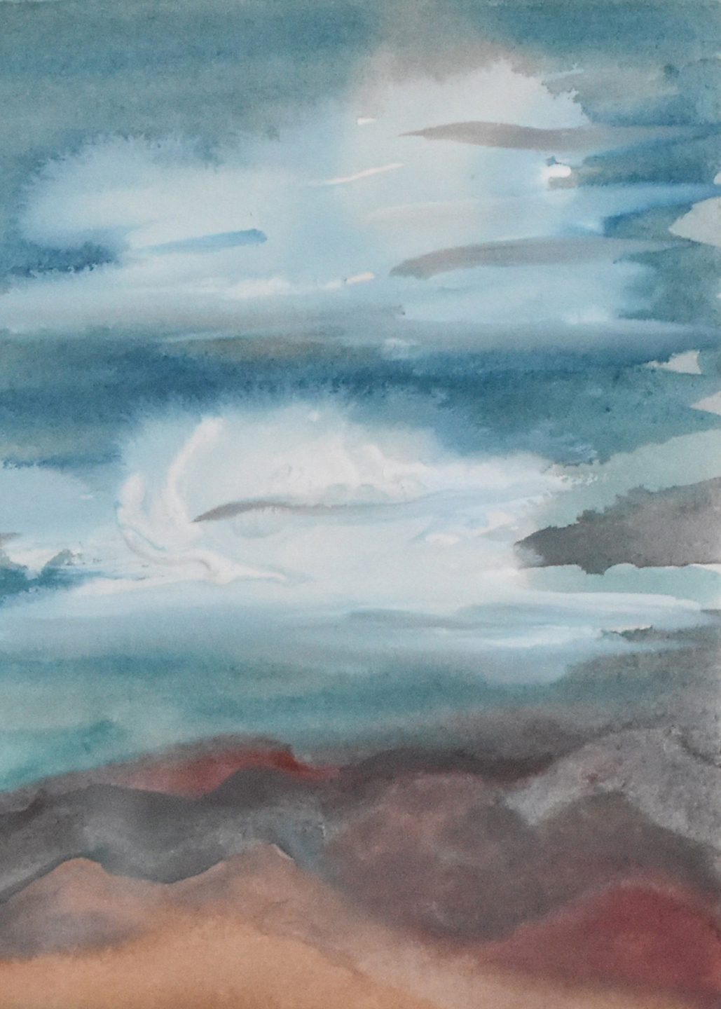 Donna Loraine Contractor: Storm Clouds