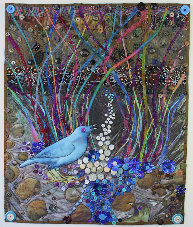Judith Roderick: Satin Bowerbird