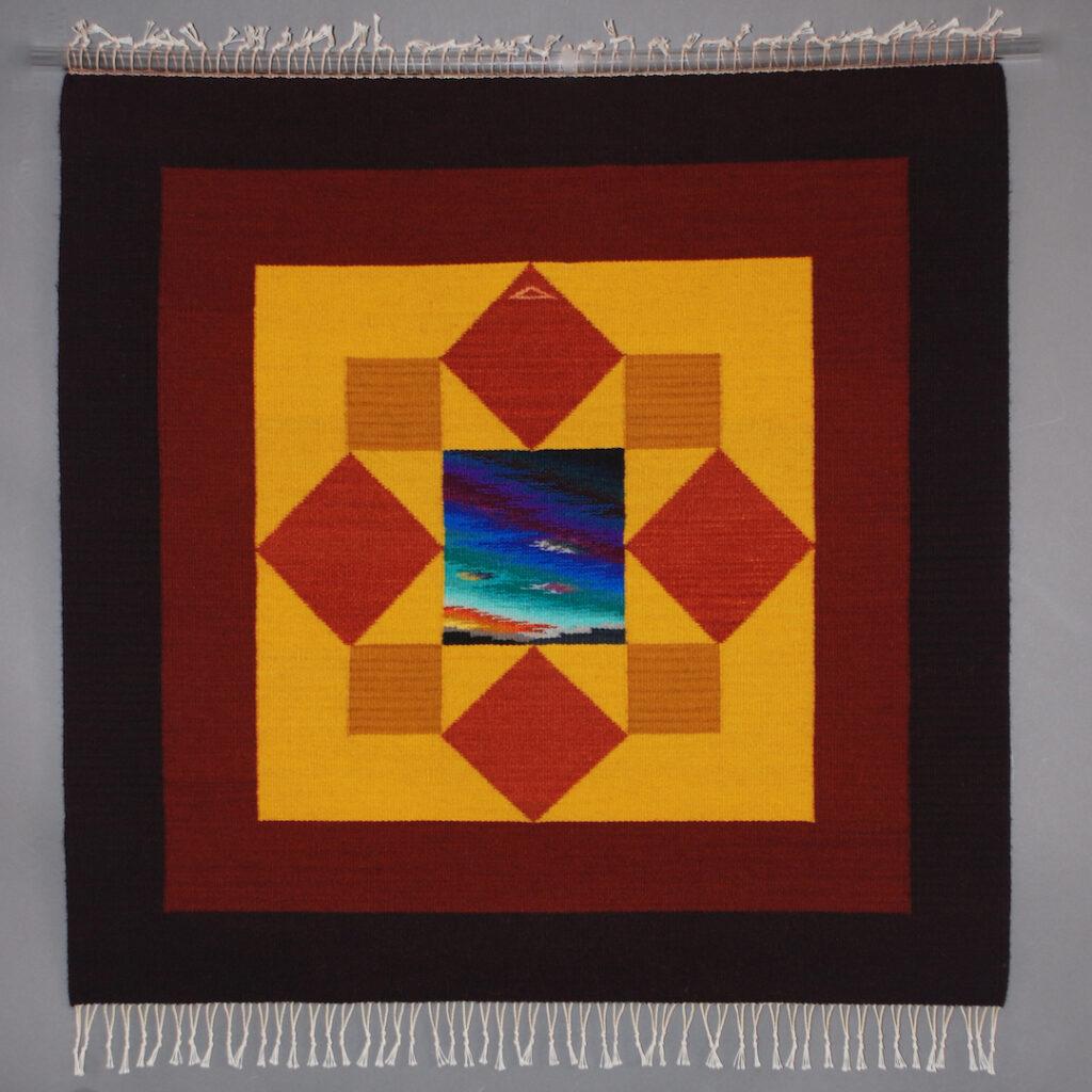 Donna Loraine Contractor: Squares & Triangles Mandala