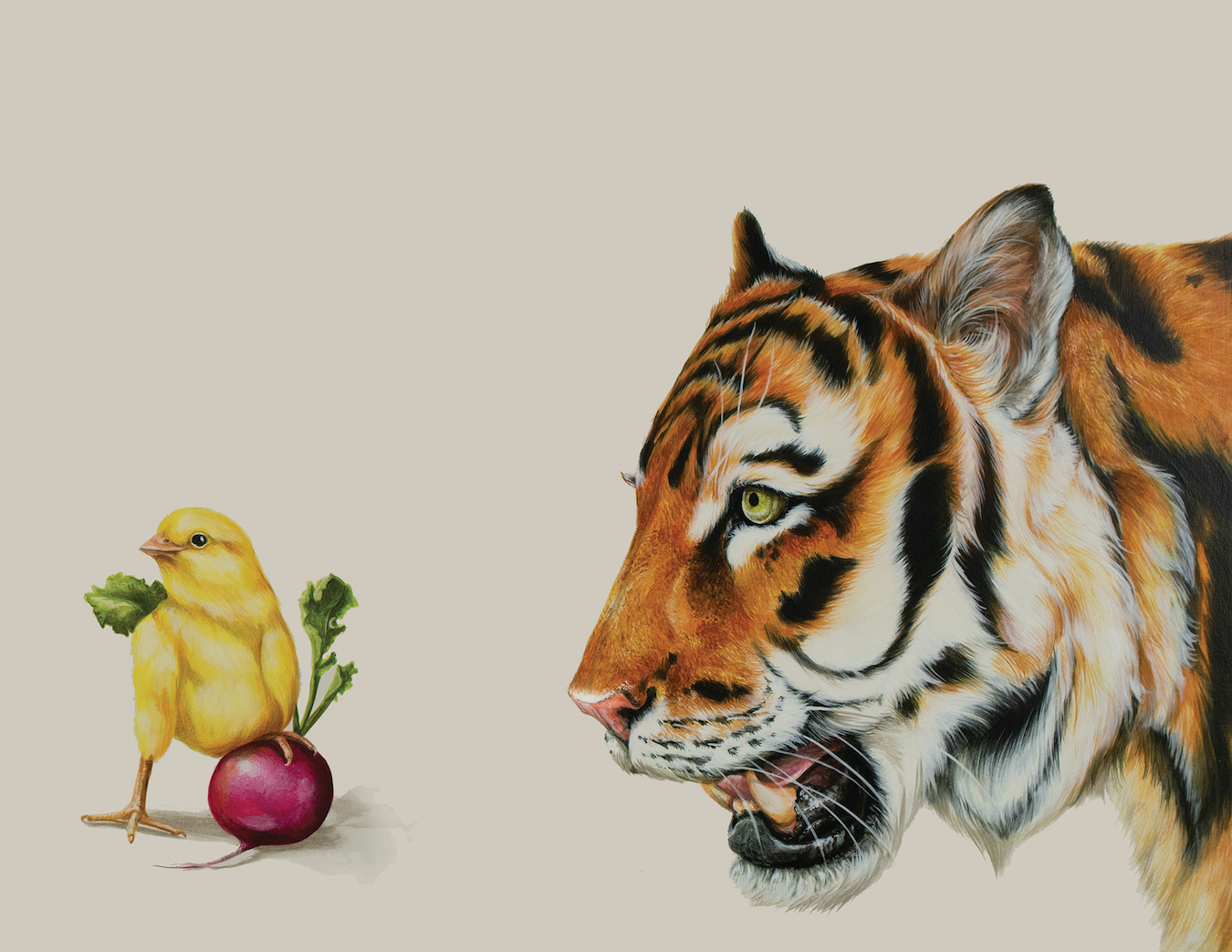 Tricia George: The Tiger and The Chick