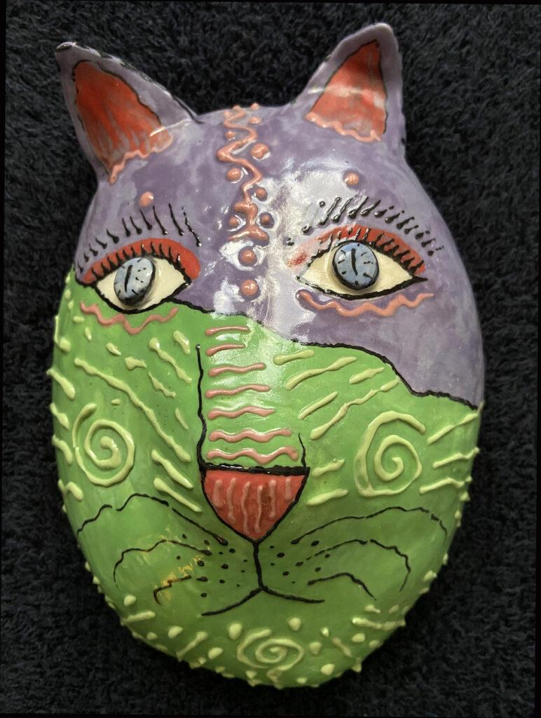 Lesley Long: Two Tone Cat