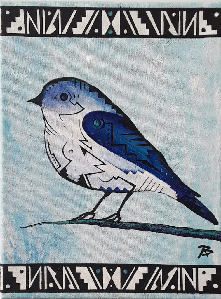 Brandon Allebach: Winter Bird