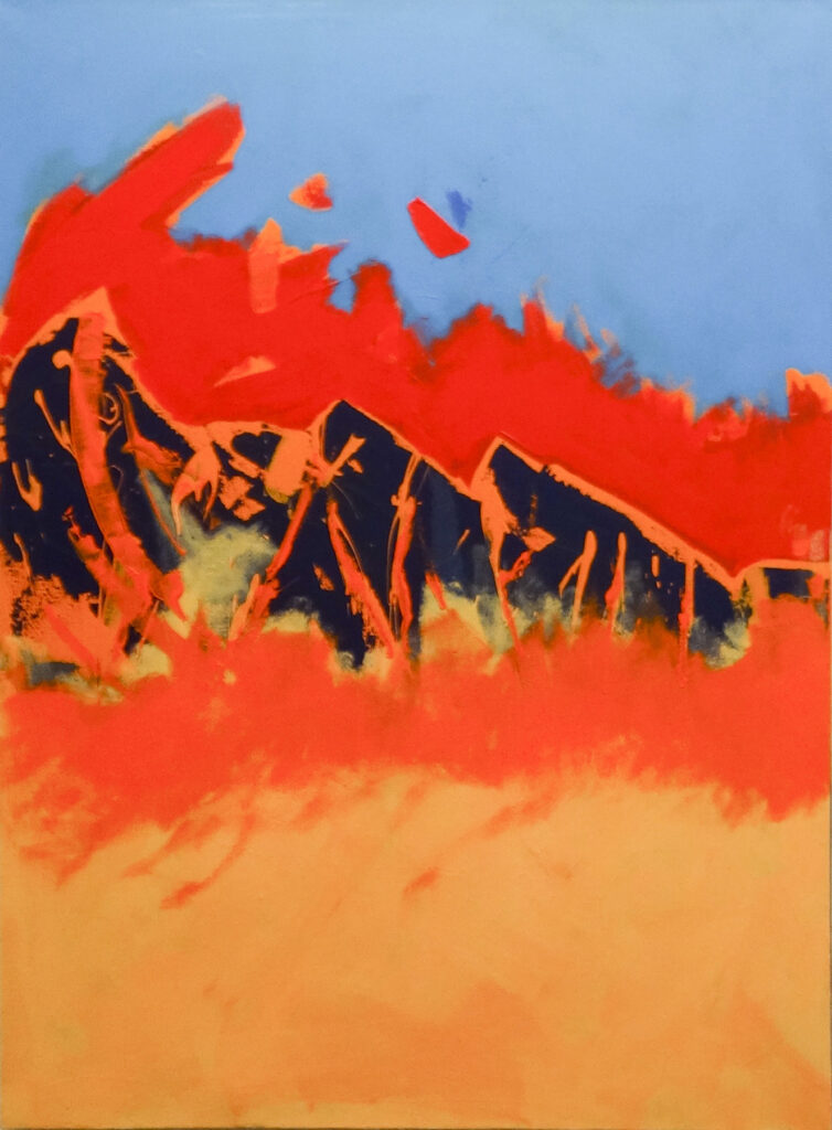 Larry Smith: Abstract Landscape 15