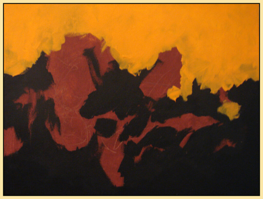 Larry Smith: Abstract Landscape 19