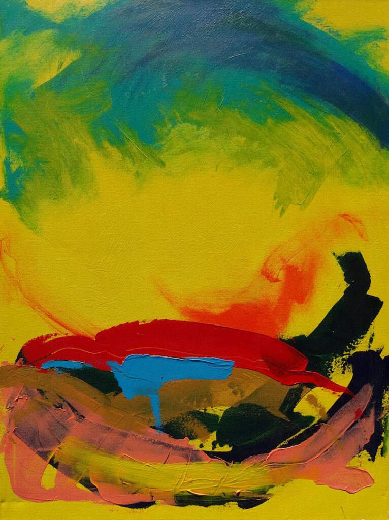 Larry Smith: Abstract Landscape 02