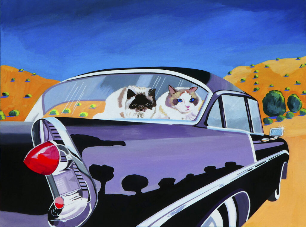 Jeannette Williams: Amos and Jaspurr in Chevy