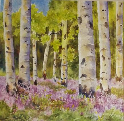 Carol Sparks: Aspen Forest