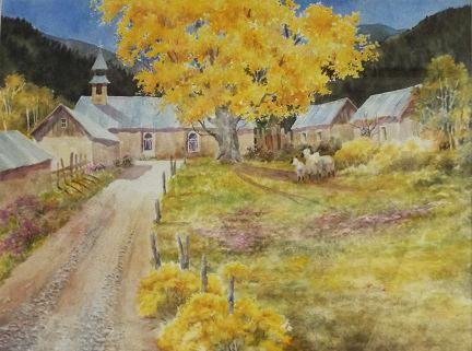 Carol Sparks: Autumn in Ledoux