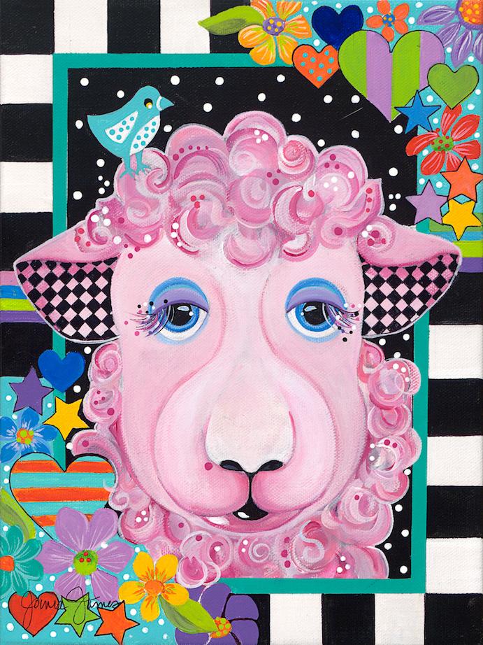 Jonna James: Barnyard Beauties -  Sheep