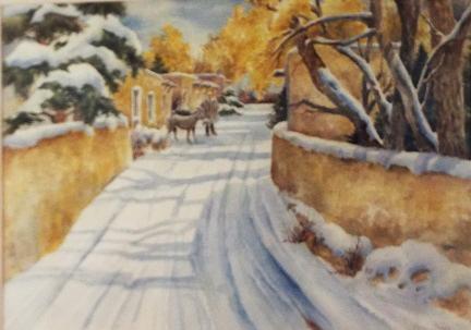 Carol Sparks: Canyon Road
