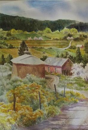 Carol Sparks: Church at Placita