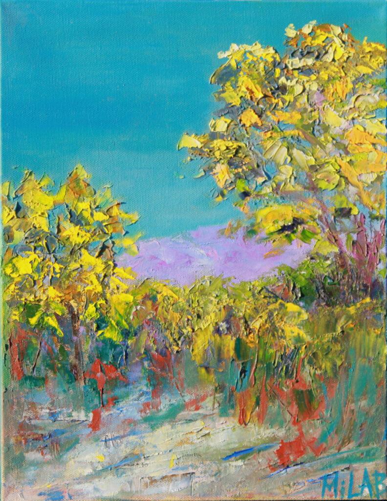 Mila Bakhirev: Fall Blossom