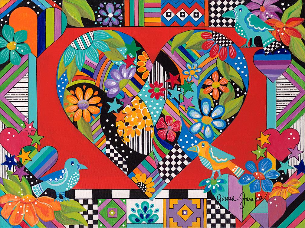 Jonna James: Hearts & Flowers