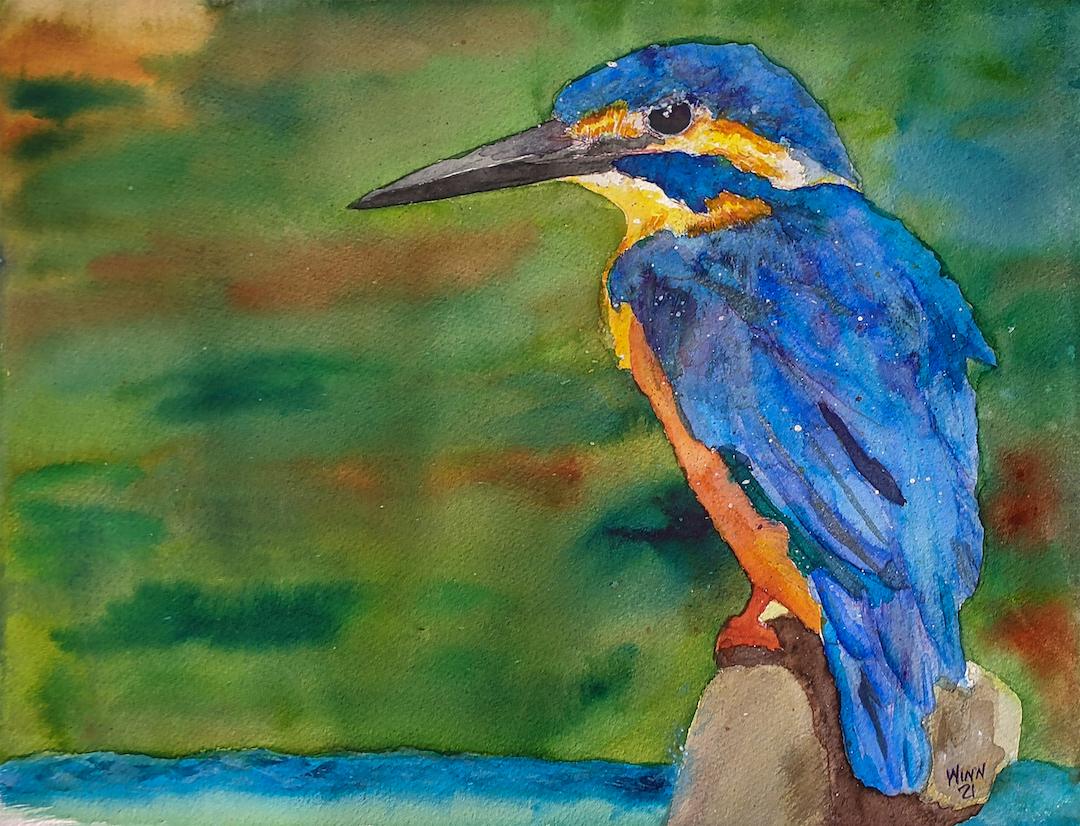 Penny Winn: Kingfisher