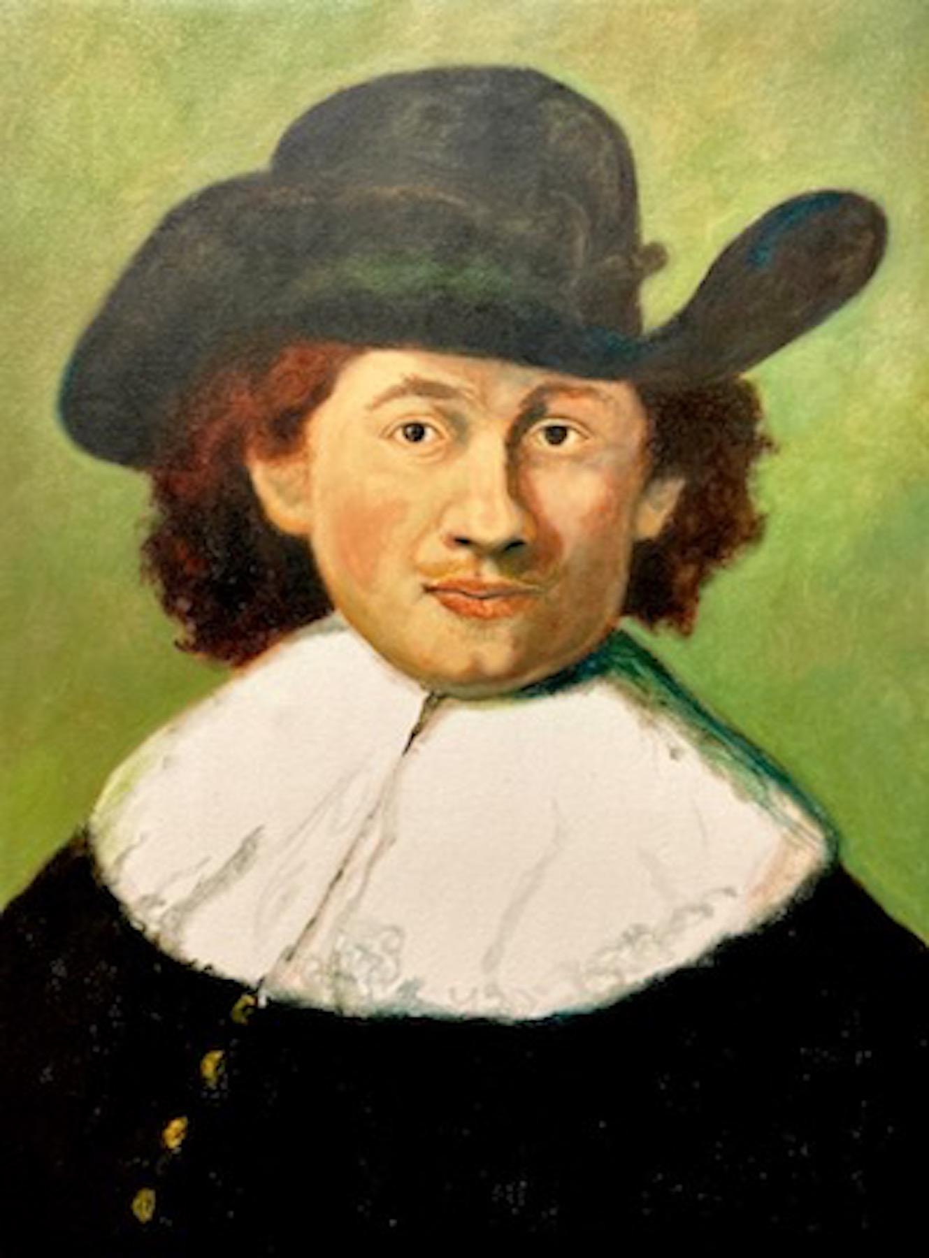 Santiago Pérez: Meditation on Rembrandt 1