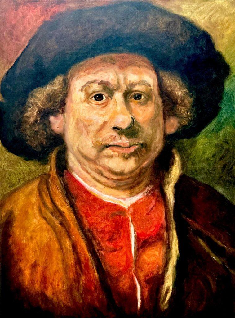 Santiago Pérez: Meditation on Rembrandt 2