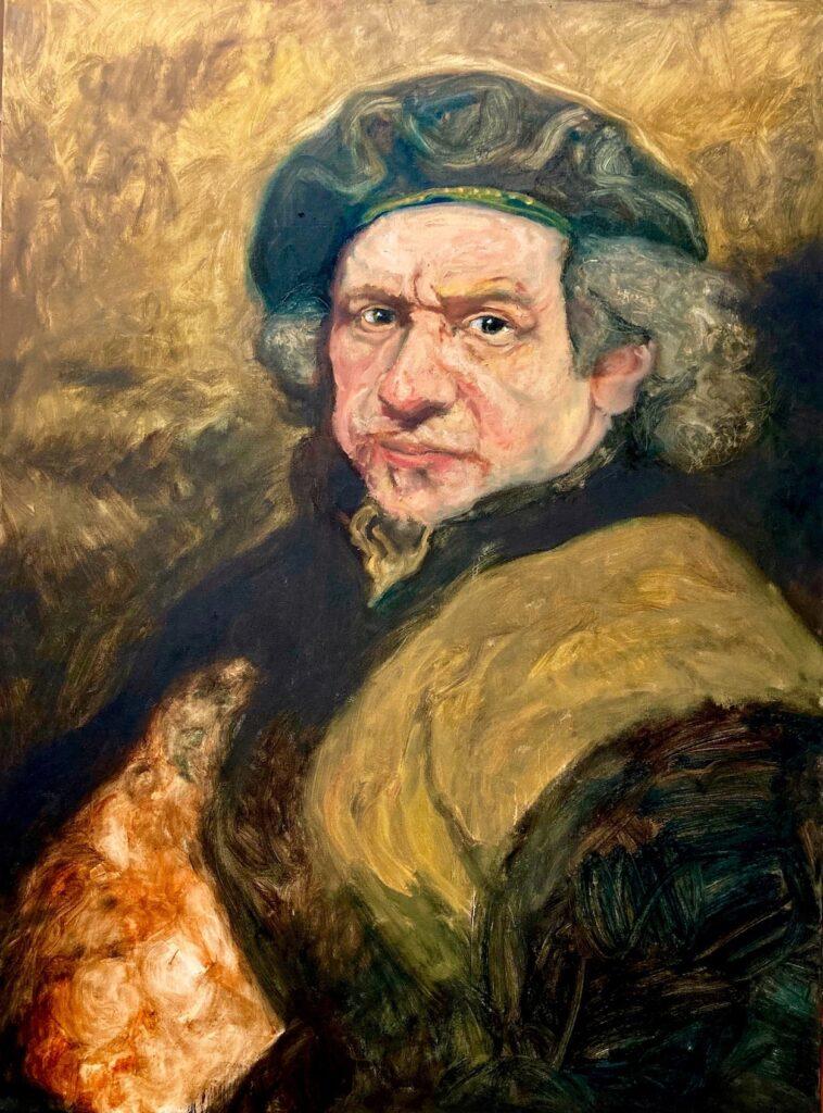 Santiago Pérez: Meditation on Rembrandt 3