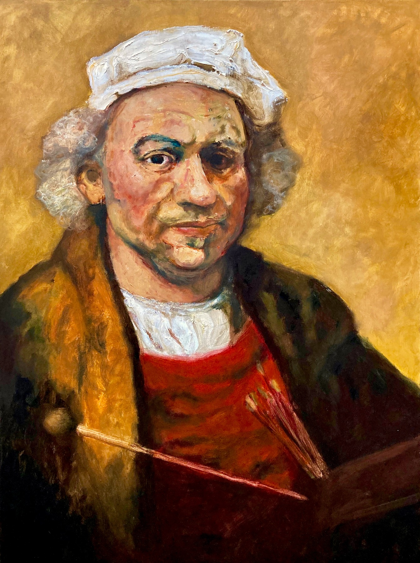 Santiago Pérez: Meditation on Rembrandt 4